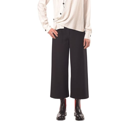 Pantalon Ample surpiqué